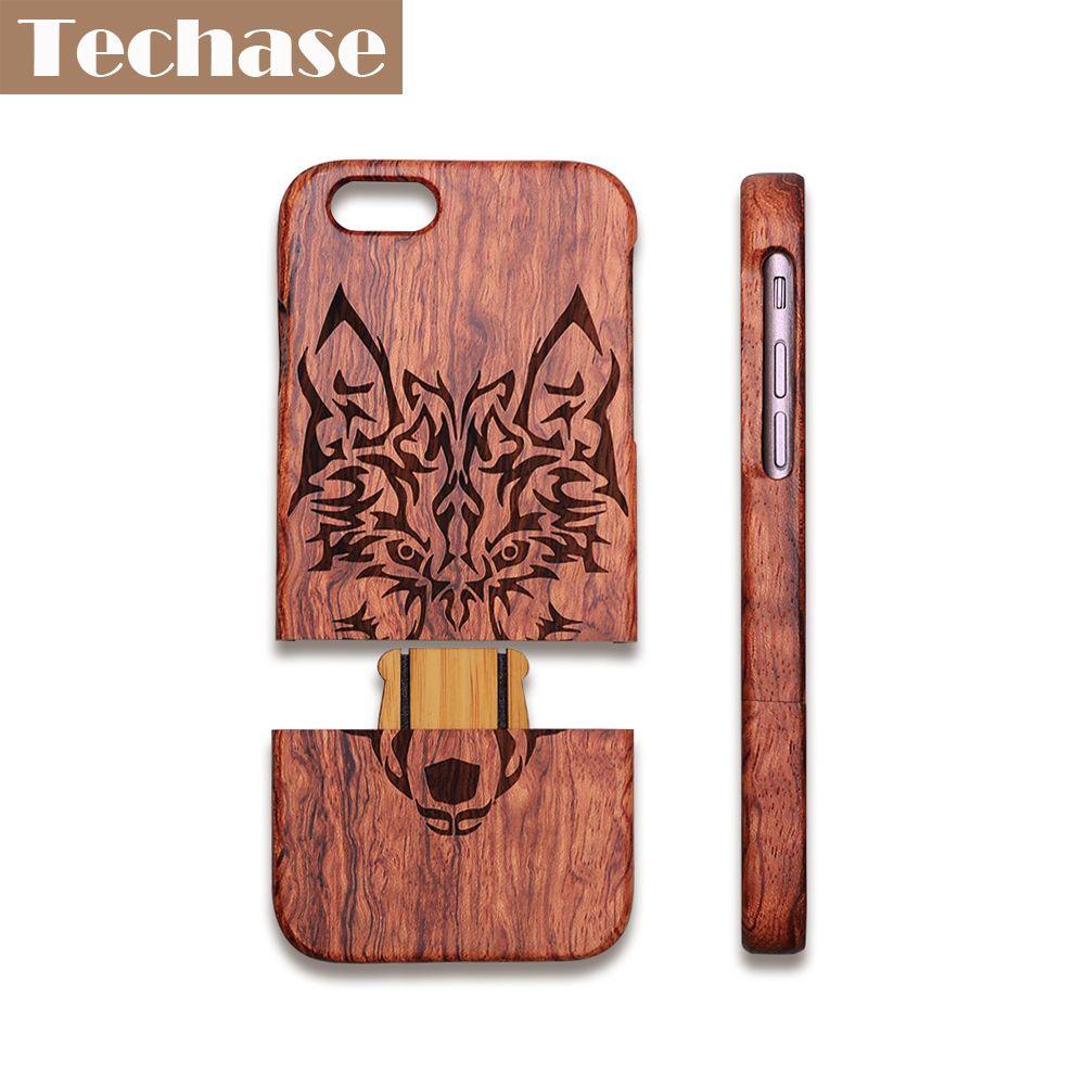 Techase Деревянный чехол для телефона 4.7 дюйм(ов) для iPhone 7 Чехол лазерная гравировка 5.5 дюйм(ов) чехол для iphonex 4 5 6 7 8 плюс крышка estojo