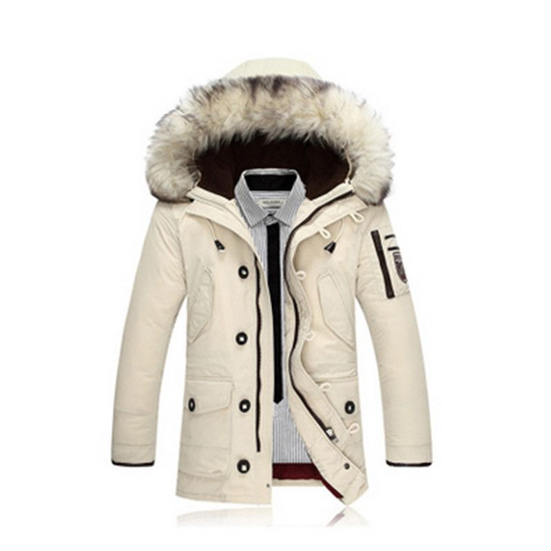 2017 New Winter jacket Men's Jacket And Coats Casual Thick Male Hooded Outerwear Overcoat XXXL