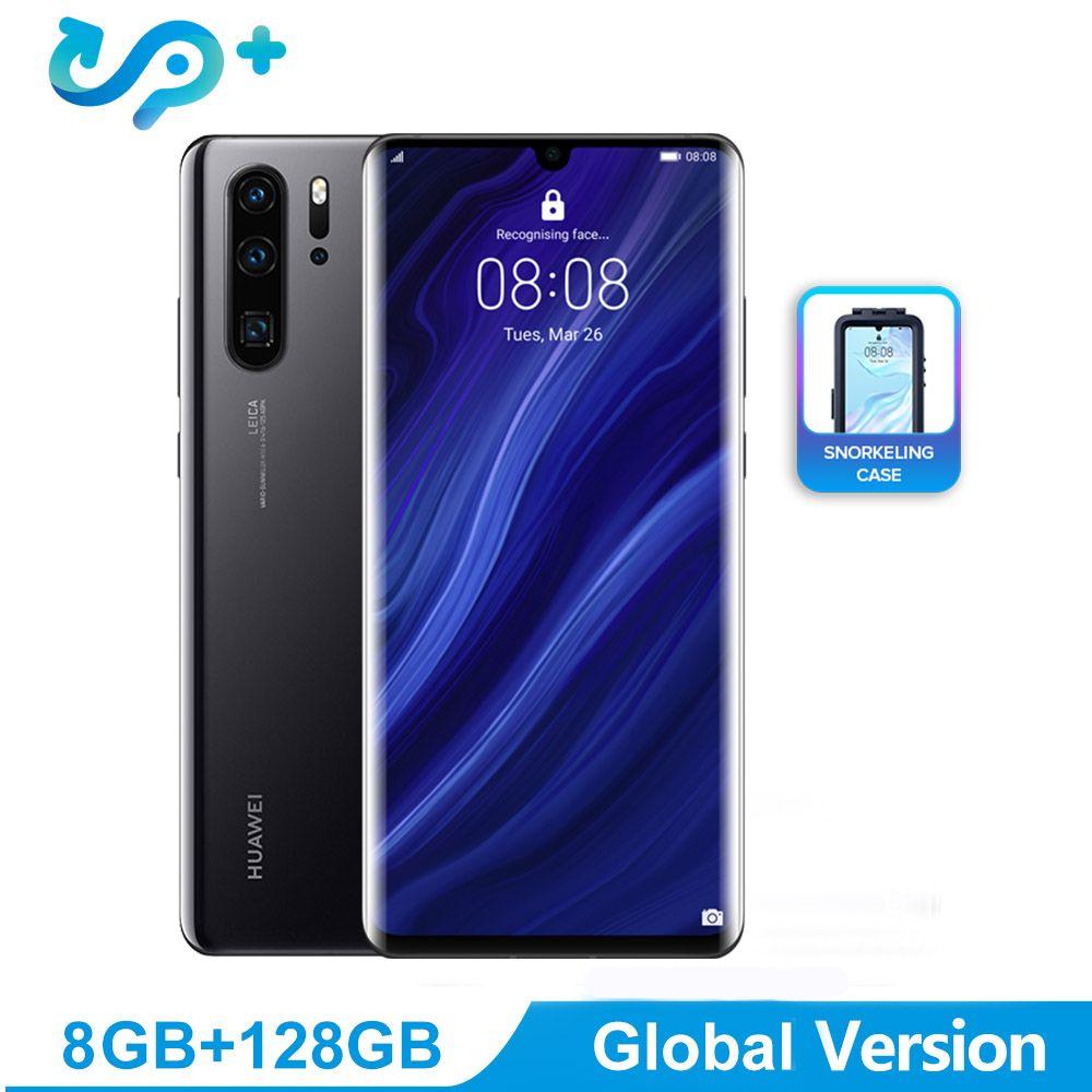 Globale Version Huawei P30 Pro Handy 6,47 inch OLED FHD + 2340*1080 pixel Bildschirm Smartphone Unterstützung NFC OTG GPS Android 9
