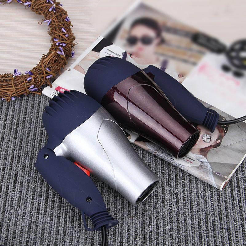 1500 W Mini taille pliable souffleur de cheveux EU prise voyageur ménage électrique sèche-cheveux avec buse de collecte sèche-cheveux à faible bruit