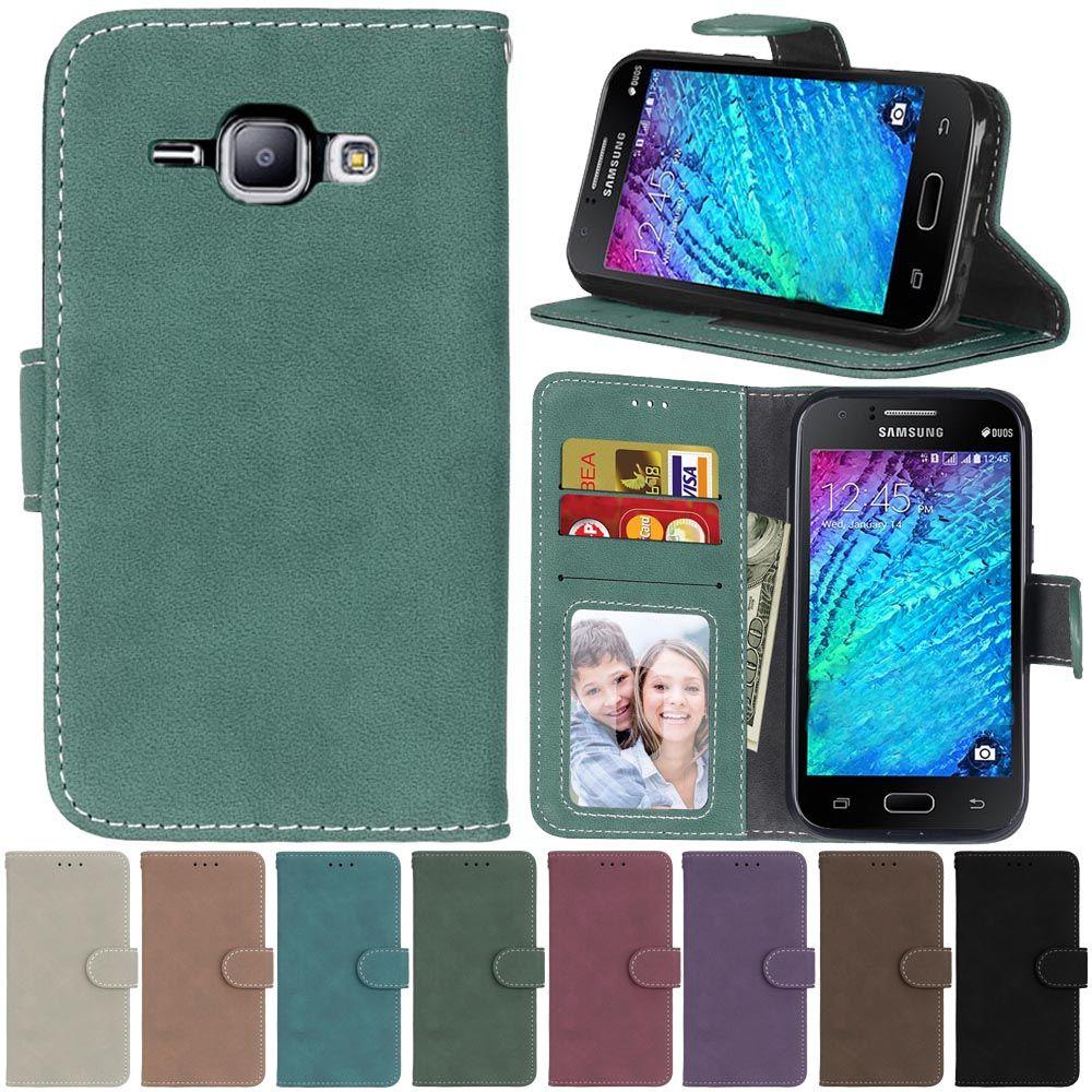 Für Samsung Galaxy J1 J1 J100 J100F J100H Leder Brieftasche Flip Fällen Silikon Telefon Abdeckung Für Samsung J1 2015 SM-J100FN coque