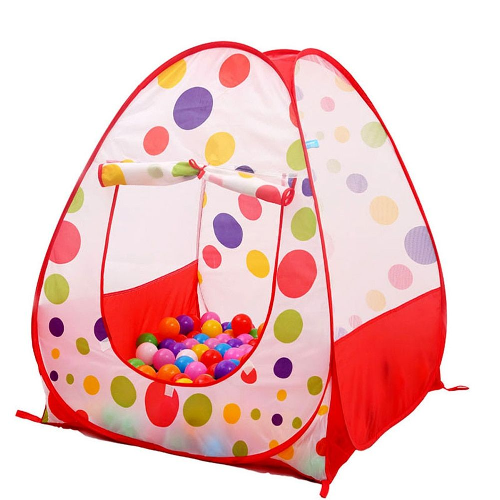 Large Portable Baby <font><b>Play</b></font> Tent Ocean Balls Pool Pit Kids Indoor Outdoor Garden House Toy Xmas Gift Boy Girls Adventure <font><b>Play</b></font> Tent