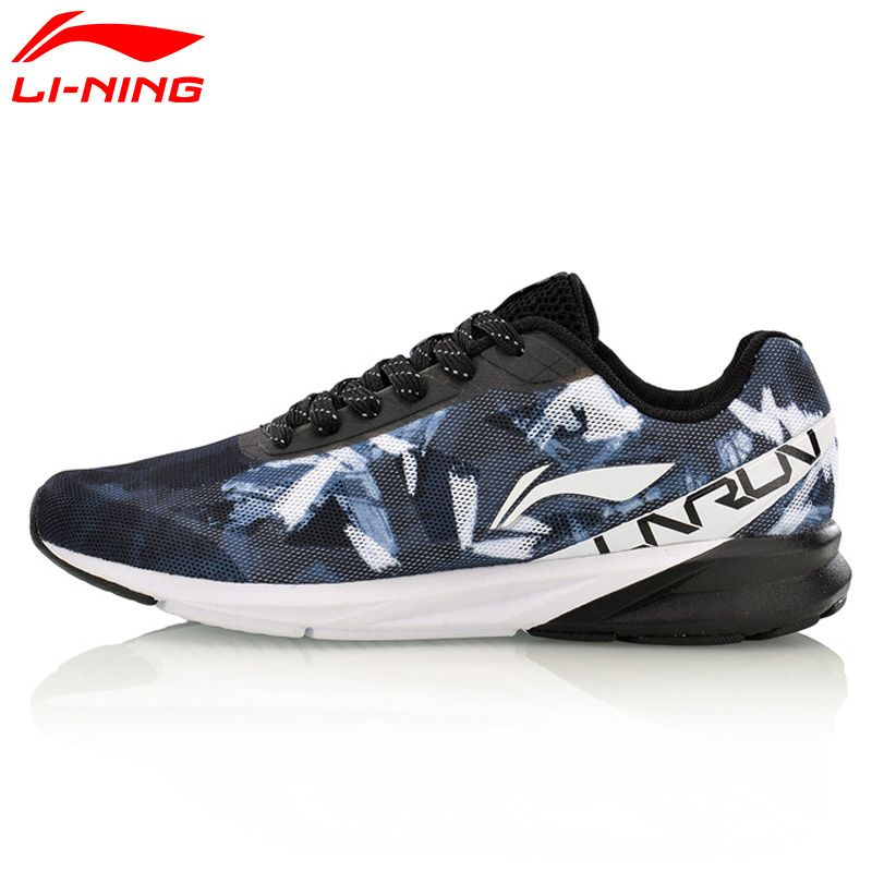 Li-Ning Men Colorful Cushion Running Shoes Breathable Wearable LiNing Sports Shoes Sneakers ARHM039 XYP567