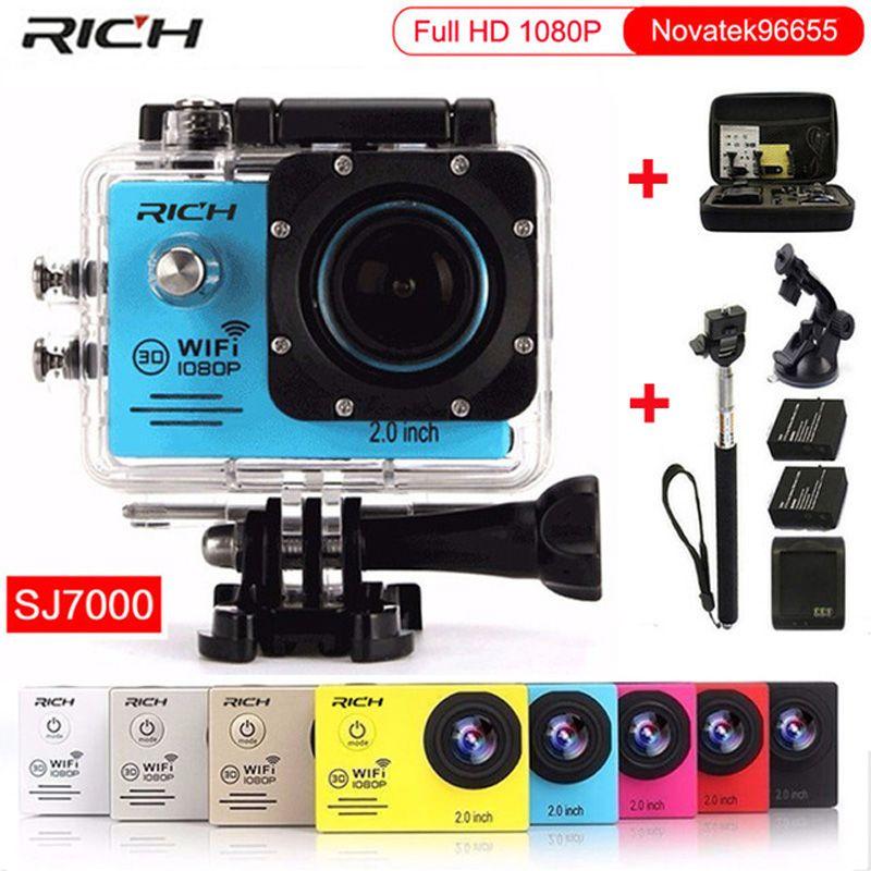 Action camera gopro hero 4 Stlye Full HD 1080P 30FPS Novatek96655 Wifi waterproof 30m Diving outdoor Sport camera