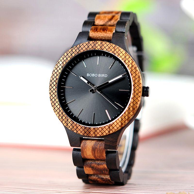 BOBO BIRD Luxury Brand Wood Watch For Men Miyota Quartz Movement Wristwatch Accept Customize Gift Relogio Masculino J-D30-1