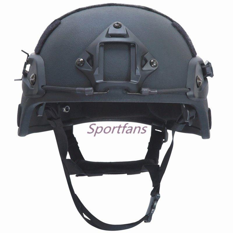 MICH 2000 NIJ IIIA Tactical Bulletproof Helmet Kevlar Ballistic Helmet Head Protection for Hunting Airsoft War Games
