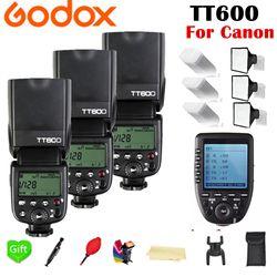 Godox TT600 TT600S 2.4g inalámbrico TL HSS 1/8000 s speedlite flash + X1T-C 2.4g inalámbrico TTL para Canon cámara