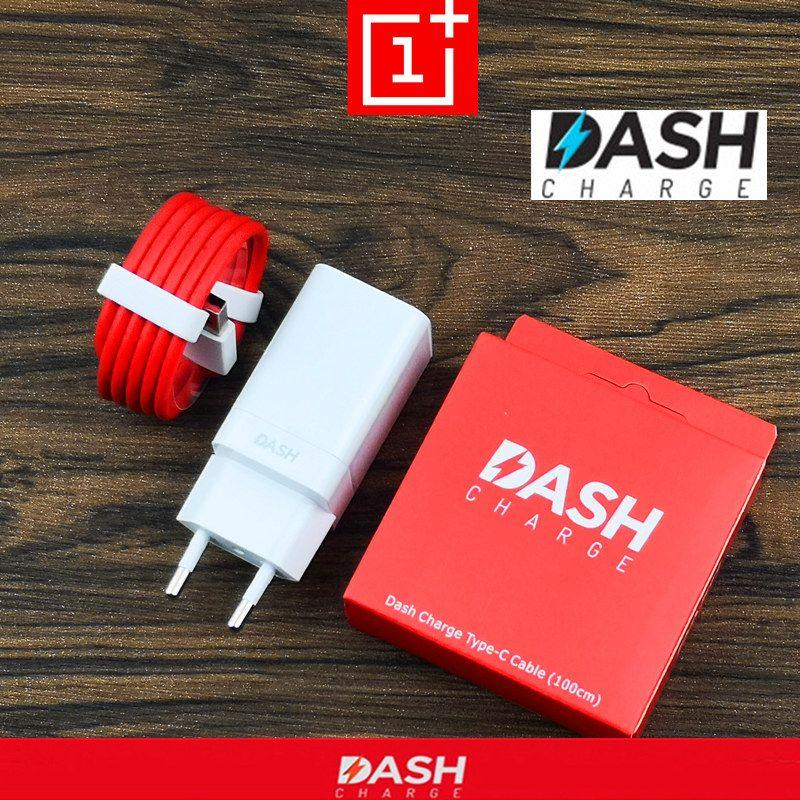 D'origine UE Oneplus 6 t Dash Chargeur 6 5 t 5 3 t 3 Smartphone 5 v/4A puissance adaptateur Charge Rapide Usb 3.1 Type C Câble de Données un plus
