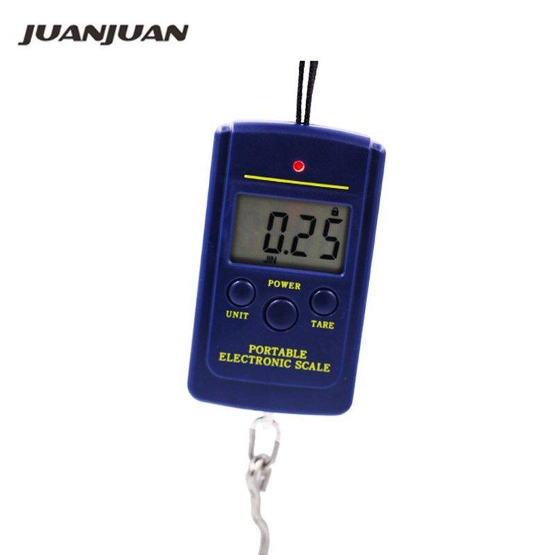40 kg x 10g Tragbare Mini Elektronische Digital Waage Hänge Angeln Gepäck Tasche Gewicht Balance Steelyard 20% off