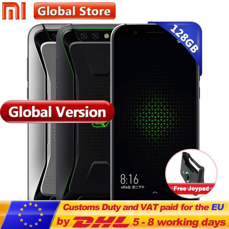 Original Global Version Xiaomi Black Shark Gaming Mobile Phone 8GB 128GB Snapdragon 845 Octa Core Full Screen 5.99