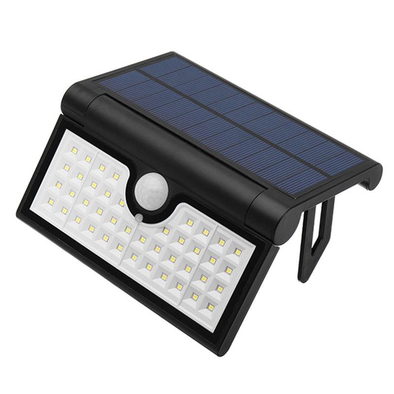 Faltbare 14/42/58 LED Solar Licht Wasserdicht Solarbetriebene SMD2835 PIR Bewegungs-sensor Außen FÜHRTE Garten Licht Sensor Wandleuchte