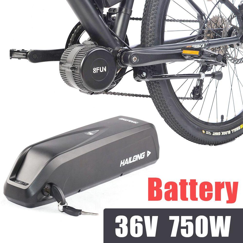 bafang kits electric bike 36V 13AH battery bbs02b 750W Hailong battery pack