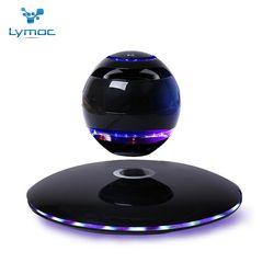 LYMOC Levitating Bluetooth Speaker LED Magnetic Suspension Speaker Wireless Stereo Music HD MIC Handsfree Sound Box Loudspeakers