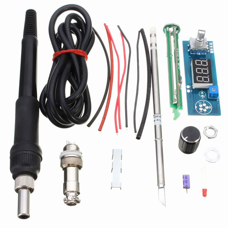 Digital Soldering Iron Station Temperature Controller Kits for HAKKO T12 Handle Electric Unit Vibration Switch