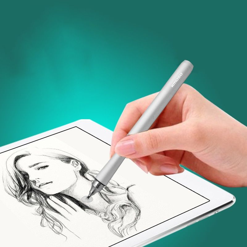 Portable 11cm Mini Capacitive Screen Stylus Touch pen For iPhone/iPad/Samsung/ASUS Tablets PC/Windows Metal Pencil Universal
