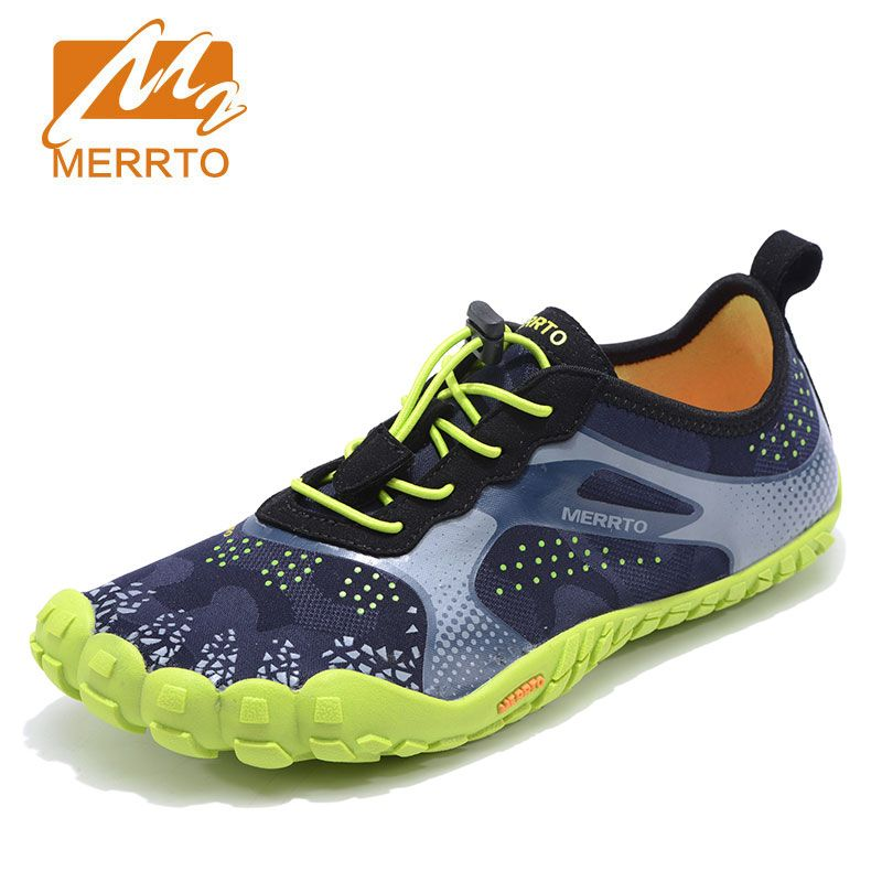 MERROT Man Anti Skid Outsole <font><b>Aqua</b></font> Shoes Quick Drying Sneakers Sports Sandal Shoes Breathable Flats Outdoor Five Finger Shoes