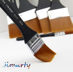6 styles Maries Aquarelle huile Art Peinture Brosse En Nylon Cheveux peinture art brosse Facile À Nettoyer en bois brosse de nettoyage AHB020