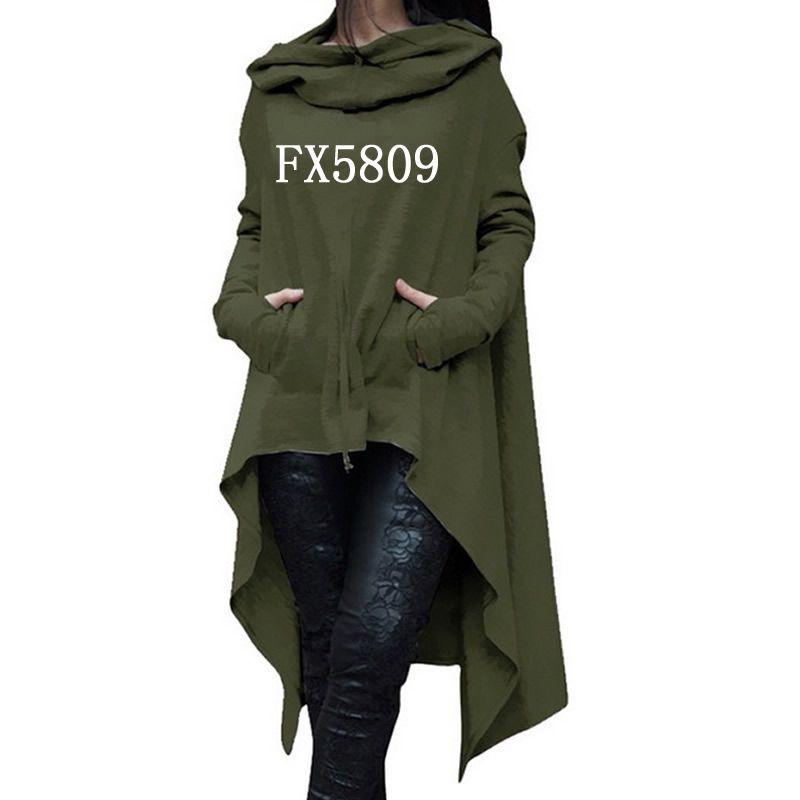 2018 nouveau mode foi imprimer hauts Kawaii sweat Femmes Hoodies vêtements velours côtelé imprimer épais automne créatif