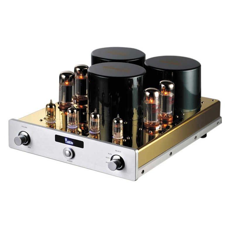 J-011 YAQIN MC-10T Integrated Vacuum Tube Amplifier SRPP Circuit EL34*4 UL Class AB1 Power Amplifier 2*40W 110V/220V