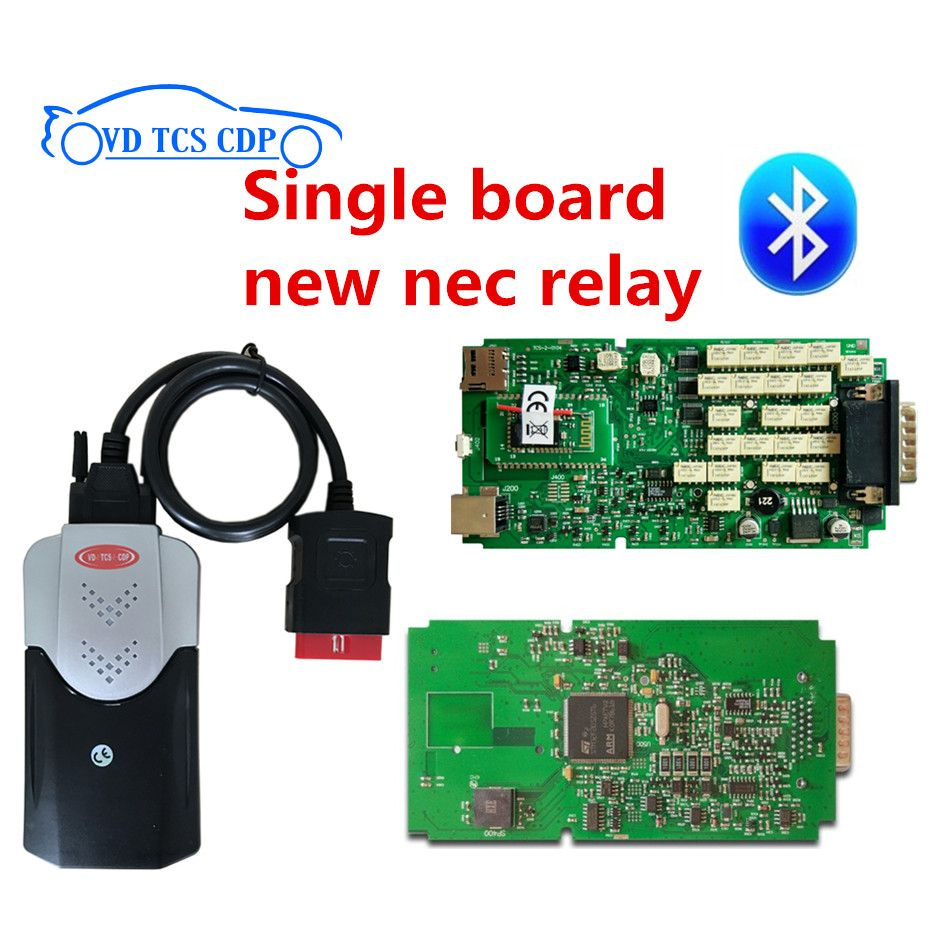 100% New ne-c relay Single one board VD TCS cdp pro plus with 2016.0 r0 free active/2015.3 R3 keygen software original pcb