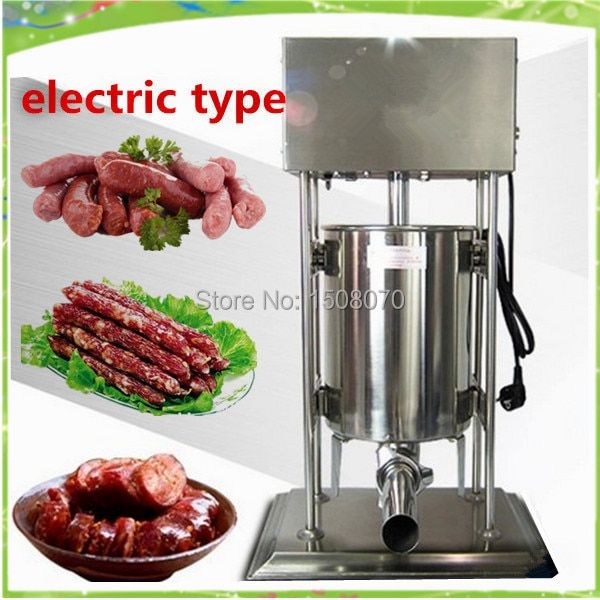 free shipping 15L commercial sausage filling machine sausage making machine sausage filler machine