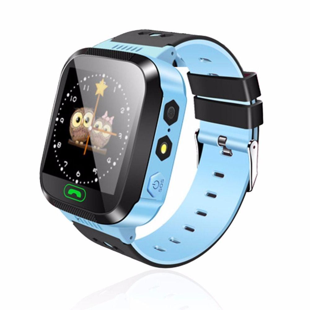 Smart Watch niños reloj pantalla táctil GPRS localizador Tracker anti-lost smartwatch bebé reloj con cámara remota SIM llamadas