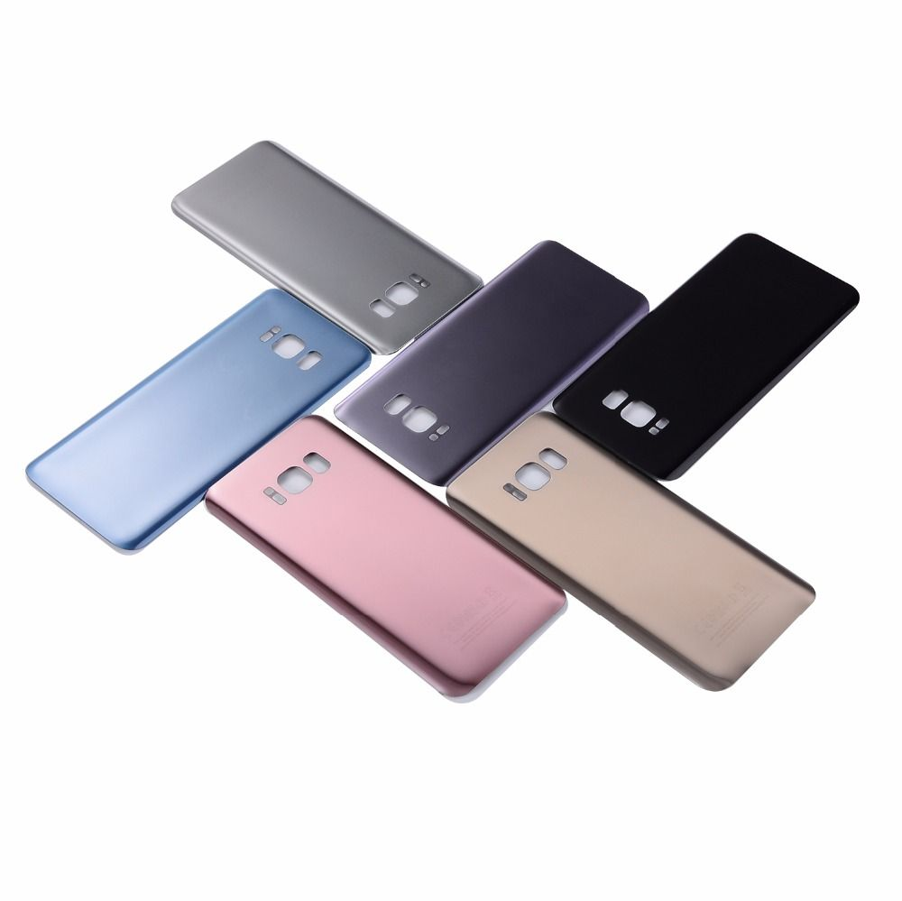 For Samsung S8 G950F Back Glass Battery Cover Housing For Samsung S8 Plus S8+ G955F Back Cover