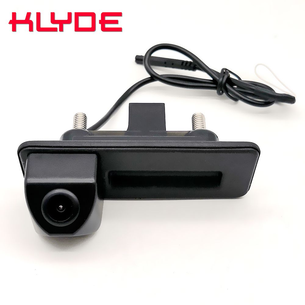 Caméra de stationnement de secours arrière de voiture avec poignée de coffre automatique pour Skoda Octavia Fabia superbe arrière rapide/Audi A1 A4L A6L Q3
