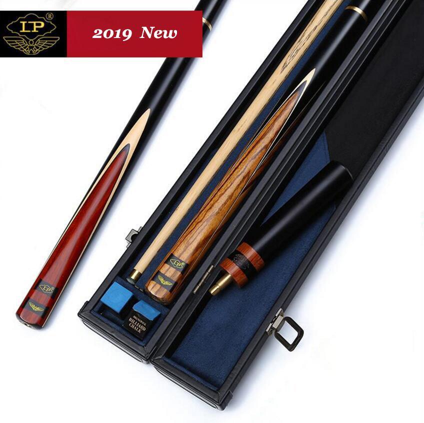 LP Asche Handgemachte 3/4 Stück Snooker Queue Kit Stick mit Gute Fall mit Verlängerung 9,5/9,8mm 10mm spitze Snooker Sticks Made in China