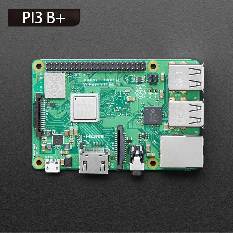 Raspberry Pi 3 Model B plus, the Improved Version 1.4GHz Cortex-A53 with 1GB RAM