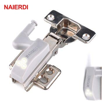 Marque NAIERDI Universel Charnière LED Capteur de Lumière Cuisine Chambre Salon Cabinet Armoire Penderie Armoire 0.25 W Intérieure Éclairage