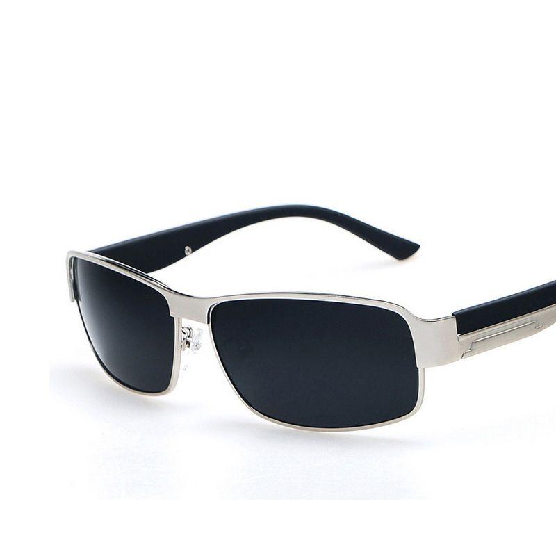High quality Square Sunglasses Polarization Driving Sunglasse men Free shipping UV400 HD Comfortable Sunglasses Men