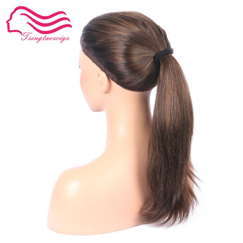 free shipping unprocessed european virgin hairkosher wonder wig color #10/6 , jewish fall wig , sport fall wig , pony wig