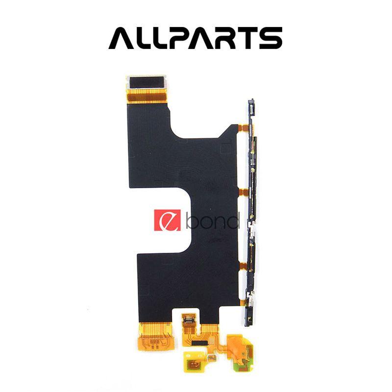 ALLPARTS LCD D'ORIGINE et Microphone Flex Câble Pour SONY Xperia Z3 Plus Z4 E6533 E6553 Pièces De Rechange