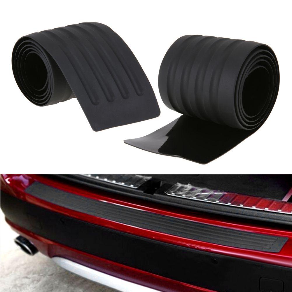 Универсальный багажник автомобиля резиновый бампер авто резиновая Молдинги отделкой сзади охранник пластины автомобилей защитную полосу ...
