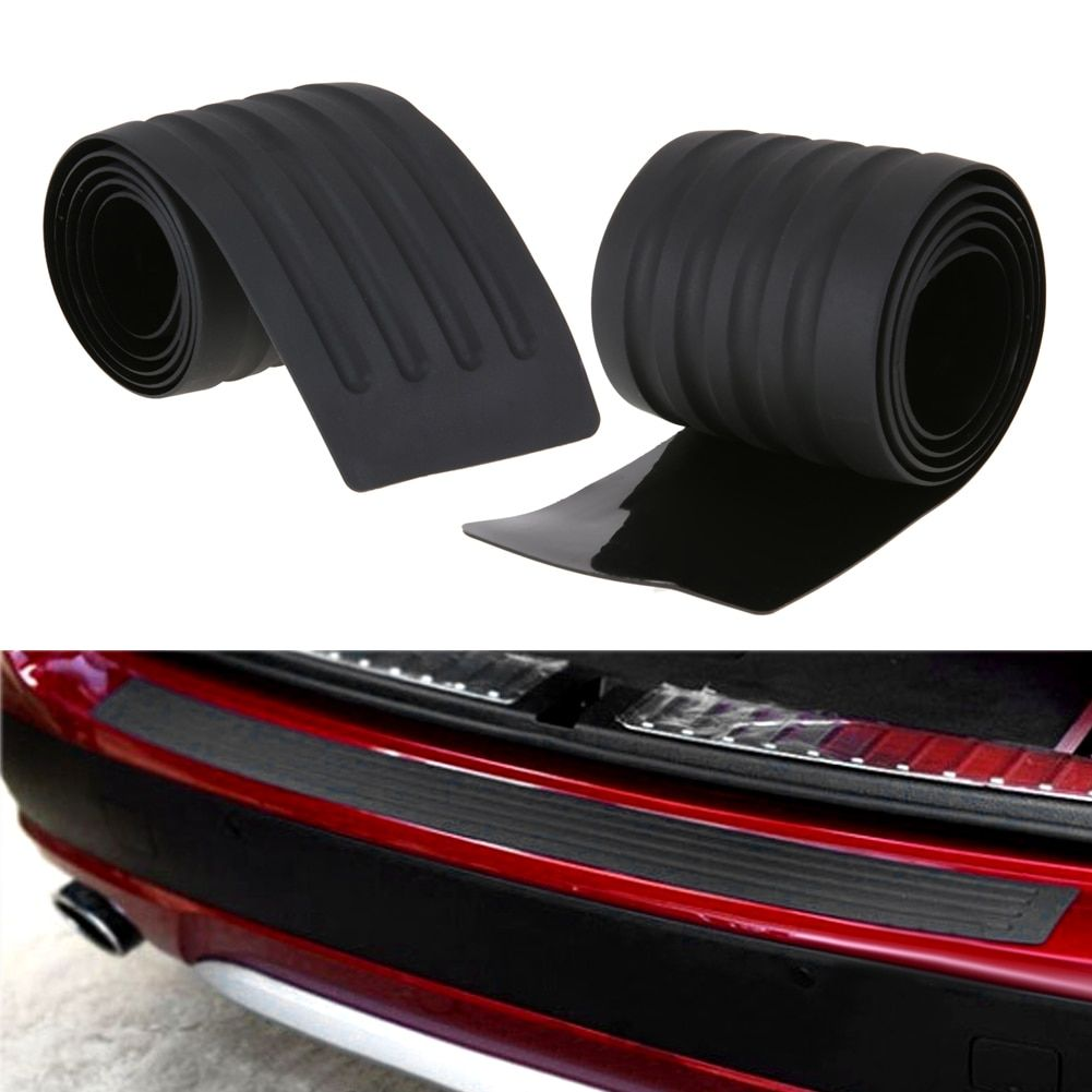 Universal Car Trunk Rubber Bumper Auto Rubber Mouldings Trim Rear Guard Plate Car Protective Strip Car-styling