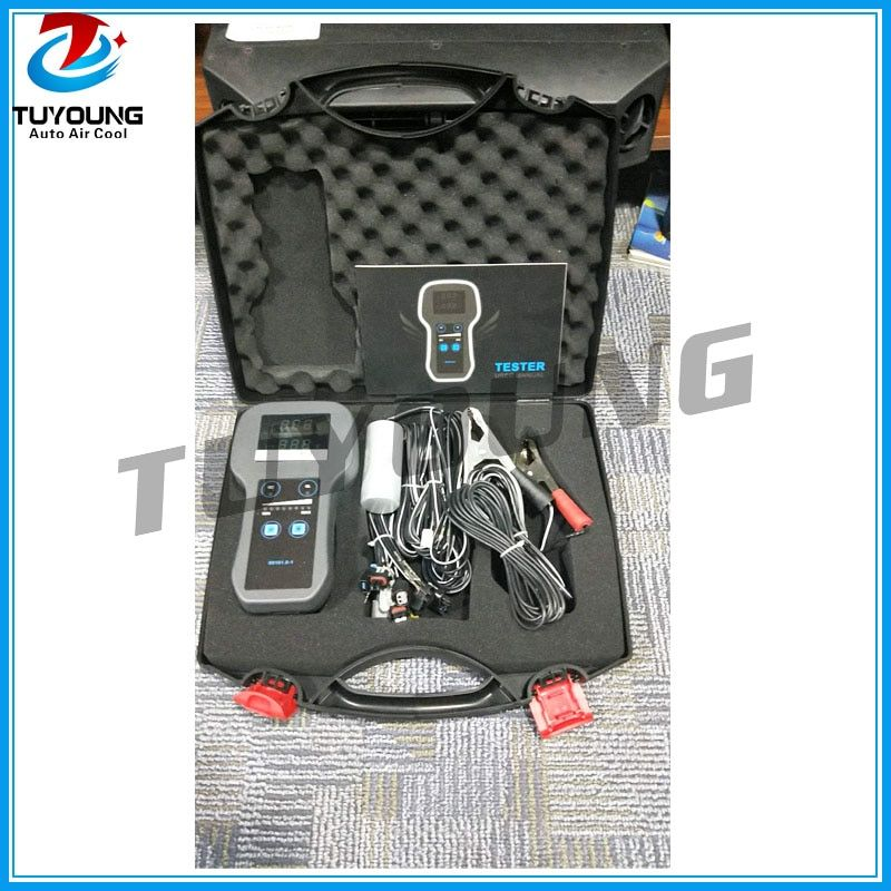 vehicle air conditioning compressor Electronic Control Valve test / tester with specific adaptors