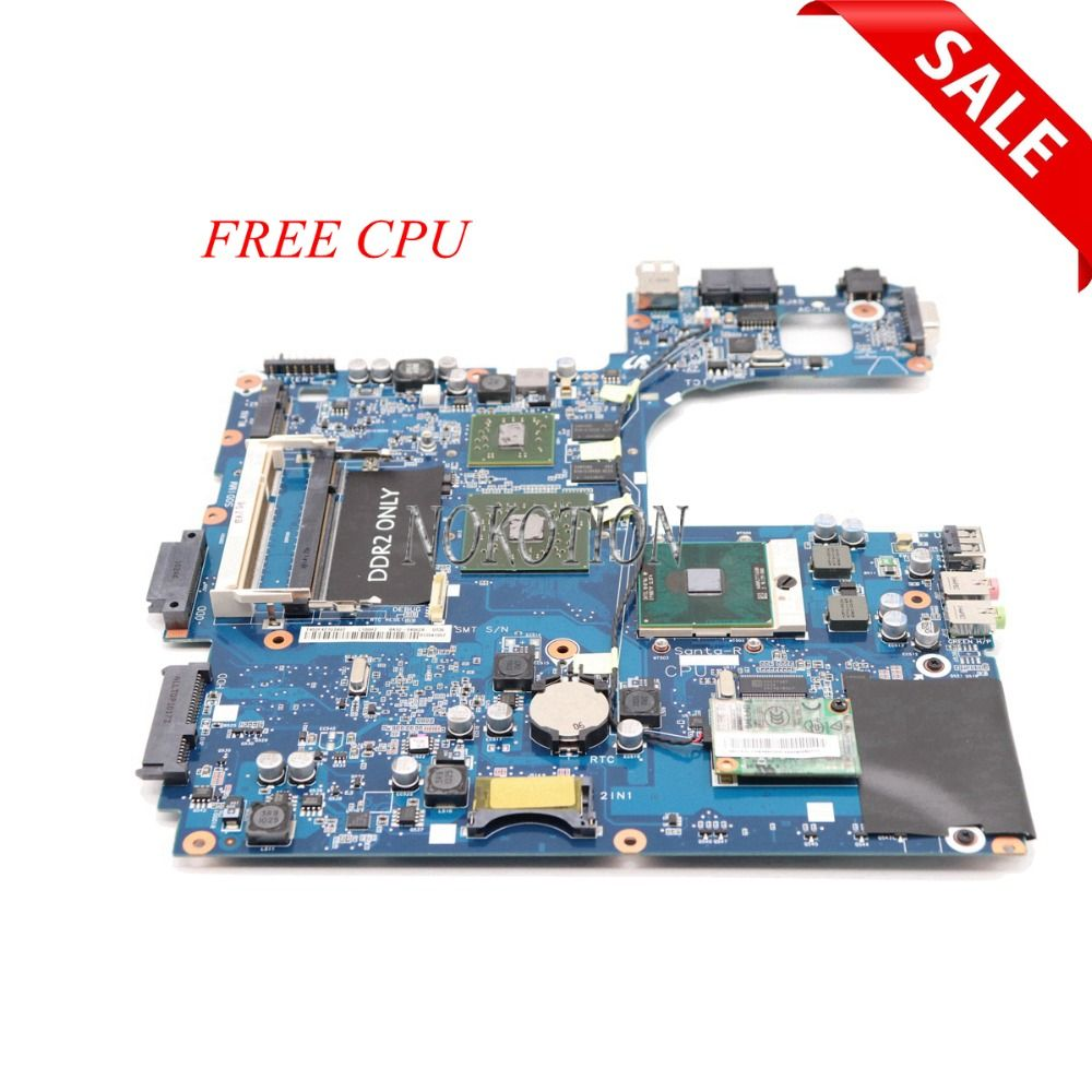 NOKOTION laptop motherboard Für samsung NP-R60 R60 BA92-04962a X2400 Wichtigsten bord DDR2 freies cpu arbeitet