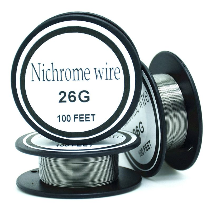 Fil Nichrome 26 jauge 100 FT 0.4mm résistance cantale AWG bricolage noyau d'atomisation
