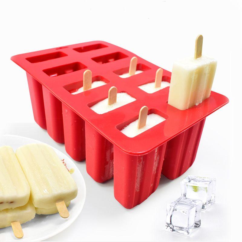 Silicone glace baignoires écologique Popsicle moule ménage enfant pour cuisine Gadgets salle à manger accessoires fournitures