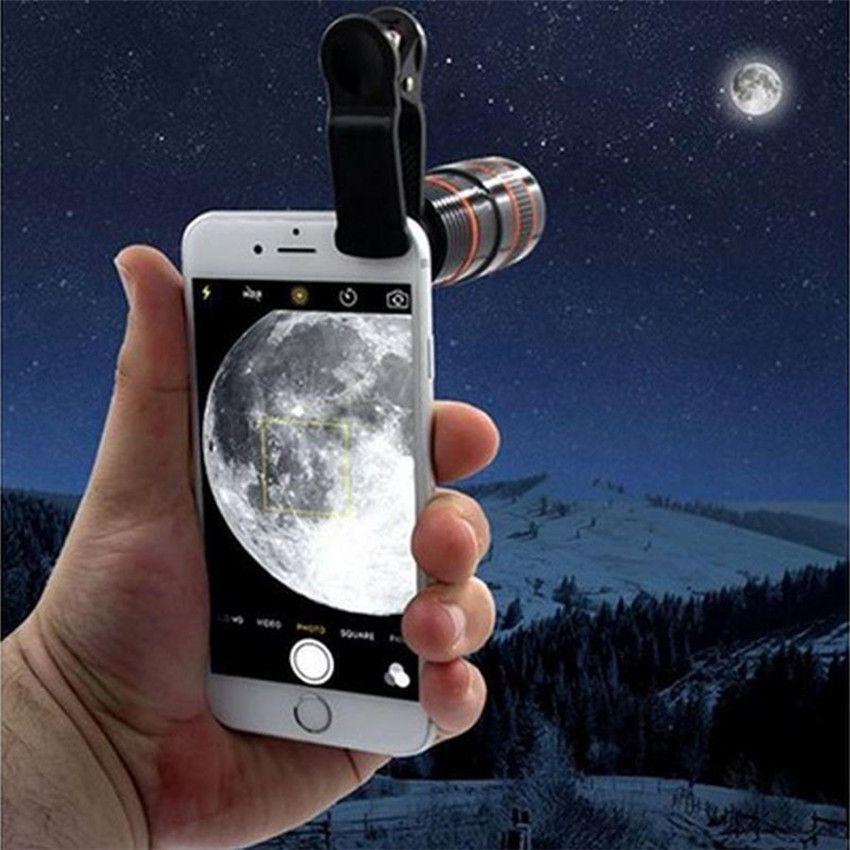 2018 nouveau Transformer Votre Téléphone En Un Professionnel Qualité Caméra!! HD360 Zoom Chaude largement utiliser la lentille sur n'importe quel smartphone #0412