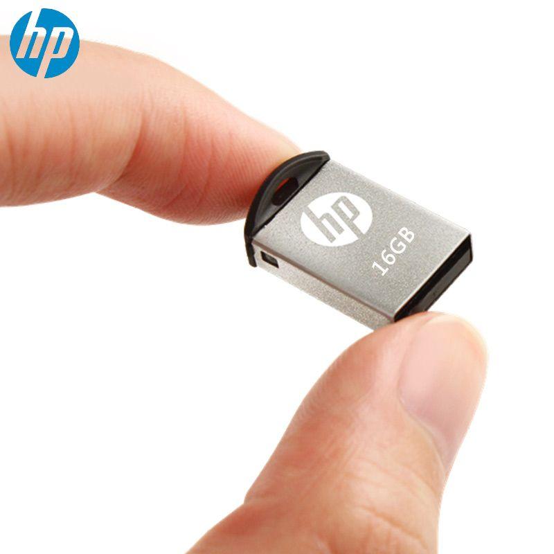 HP USB Flash Drive 16 gb pendrive memory Stick USB En Métal v222w Micro M2 multi disque avec otg Type-c Pour mobile téléphone clé usb 16 GB