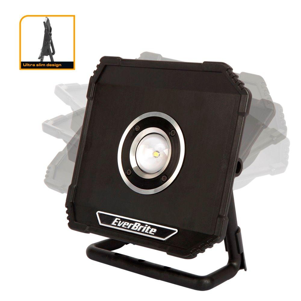 EverBrite 800 Lumens éclairage LED projecteurs portables rechargeables éclairage extérieur étanche pour Camping d'urgence