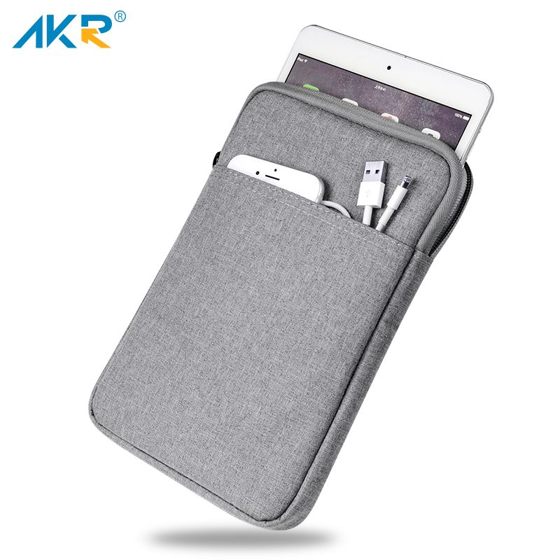 AKR antichoc pochette pour tablette pour iPad Air 10.5 pouces Pro couverture pour iPad 4 2 3 9.7 pouces poche à glissière épaisse 2019