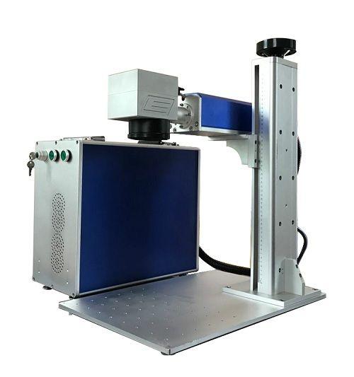 20w Separating Fiber Laser Marking Machine Laser Maker
