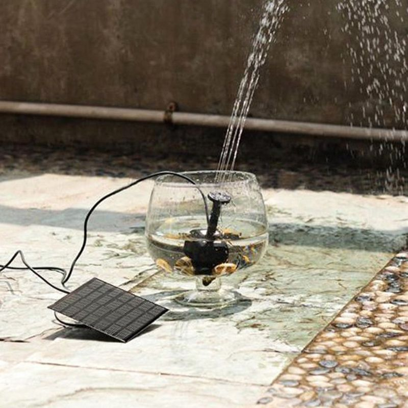 7 V 180L/H Brushless DC Solar Power Brunnen Wasserpumpe Spray Panel Kit Für Pool Haus Garten Decor Fischteich Bewässerung Pumb