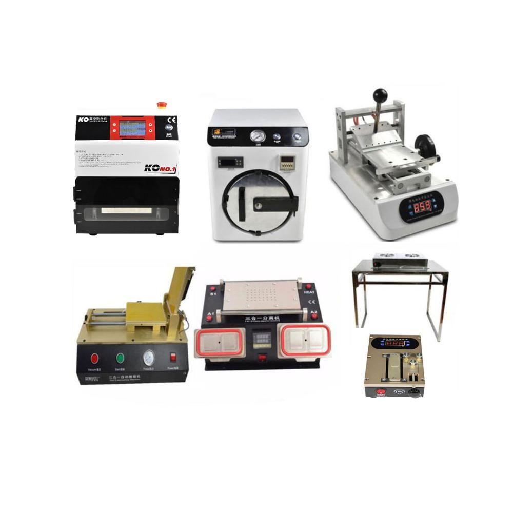 7 zoll Klassische KO No. 1 Universal OCA Vakuum Laminator + Autoklav Blase Entfernen LCD Bildschirm Drücken Maschine benötigen vacum pumpe