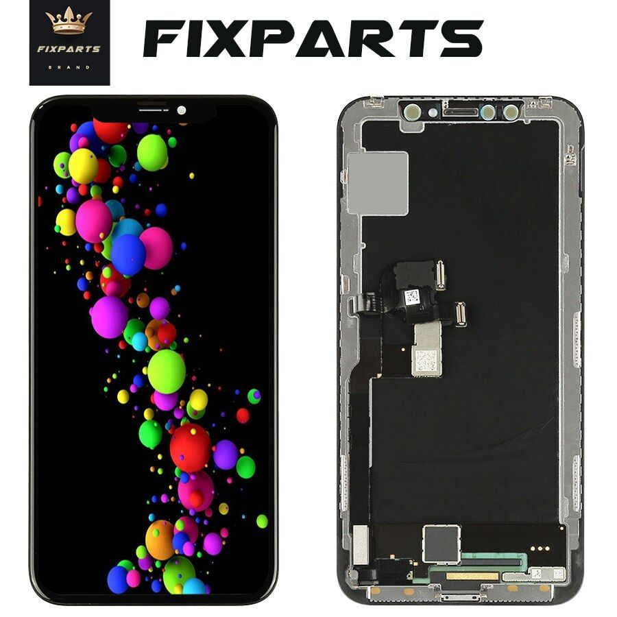 2018 High Quality No Dead Pixel LCD Display For iPhone X LCD Touch Screen Replacement Parts for iPhone Ten 10 LCD + 9 in1 Tools