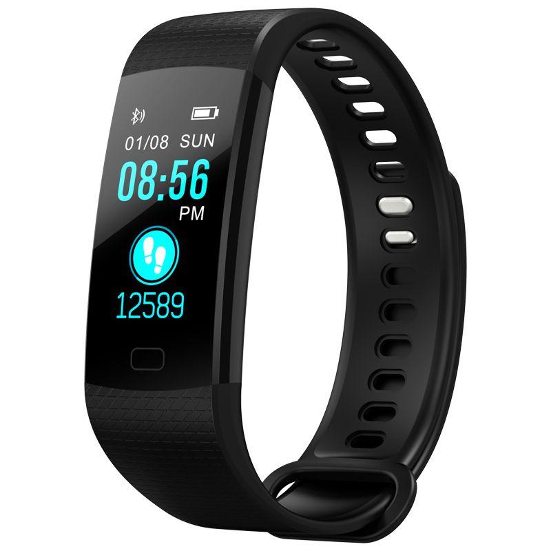 OGEDA Smart Watch Men Sports Bracelet LED Waterproof Smart Wrist Band Heart Rate Blood Pressure Pedometer Clock for Android IOS