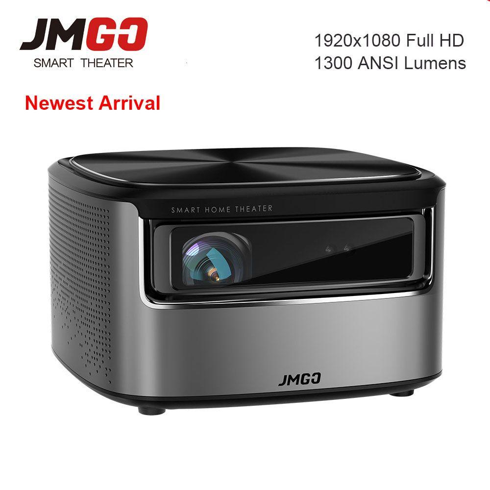 JMGO N7 4 K Projektor Mini Projetor Full HD 1300 ANSI Lumen, 1920*1080 P Heimkino WIFI Bluetooth HDMI USB Smart Beamer